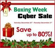 Boxing week Cyber Sale