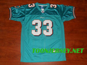Miami Dolphins Daniel Thomas #33 Green Jersey on www.toonjersey.net