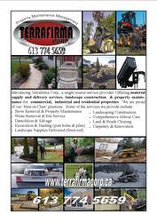 Waste removal salvage demolition ottawa kempville tree service