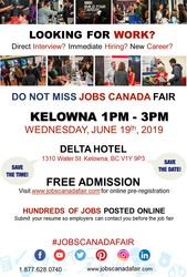 Kelowna Job Fair - May 19th,  2019